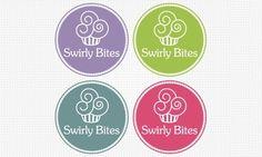 Doces, Cupcakes e Rosquinhas em Logos Criativos | Criatives | Blog Design, Inspirações, Tutoriais, Web Design