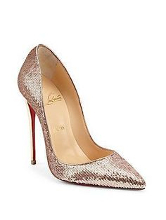 Christian Louboutin Kate Pumps #christianlouboutingold