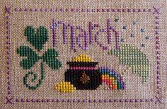 ♣ march ♣ | by stitchy stitcherson