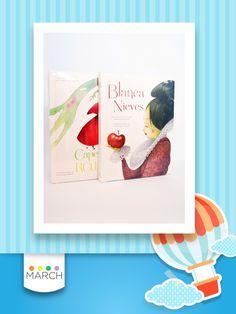 Libros de Lectura Caperucita Roja y Blanca Nieves