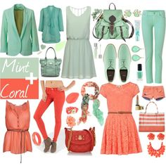 Mint & Coral Trend