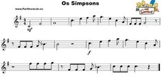 Portal das Partituras | Portal dos Violinistas - Partituras Clássicas - Melodias - Partituras Gratis: Os Simpsons