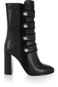 Isabel Marant Arnie leather boots | NET-A-PORTER