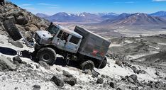 Mercedes Benz Unimog Reaches New Heights Sets Altitude Record By