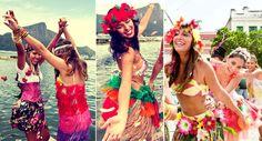 Com dias fáceis Improvise a sua fantasia e brinque o carnaval cheia de estilo!