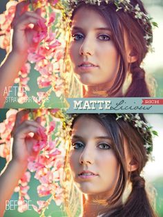 Matte Photoshop Actions & Lightroom Presets from Bellevue Avenue (bellevue-avenue.com) #matteactions #matte #actions #photoshop #elements #lightroom #presets