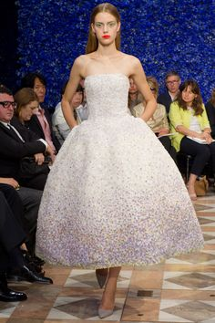 A beautiful creation from the Christian Dior Fall 2012 Couture collection.