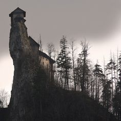 Oravski Zamok – Castle near the border between Slovakia and Poland.   Rock_FIRST PAGE :) by G. For., via Flickr