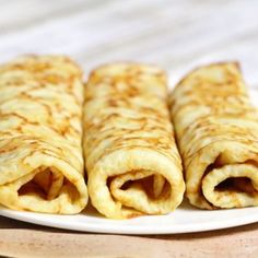 This Polish crepe recipe was my grandmother's who adored apples! Once you make them, you will always go back to this recipe for more! Cream Cheese Bread, Cheese Buns, Polish Desserts, Polish Recipes, Apple Crepes, Raspberry Mousse Cake, Best Carrot Cake, Apple Cake, Kitchens