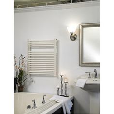 Wire Electric Towel Warmer for a sleek look, and warm towels.