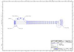 remCAD Tube Guitar design