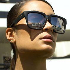 Love huge quay sunglasses.