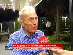Bozkurt İlham Gencer 89. Yaş gününü evlatları, dostları ve Dolunay Obruk'la kutladı - YouTube