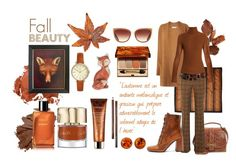 """""""Fall Beauty"""" by celine-diaz-1 ❤ liked on Polyvore featuring beauty, Ellen Tracy, L.K.Bennett, Patricia Nash, Clarins, Michael Kors, Bobbi Brown Cosmetics, Barton Perreira, Chanel and FOSSIL"""