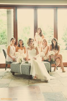 Bridesmaids, toronto wedding photographer raph nogal, cambridge mill