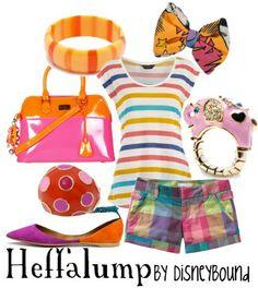 DisneyBound Heffalump outfit