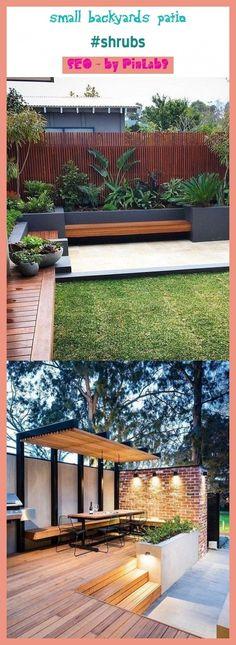 Precious Tips for Outdoor Gardens - Modern Small Backyard Design, Small Backyard Gardens, Backyard Garden Design, Small Backyard Landscaping, Backyard For Kids, Small Backyards, Backyard Privacy, Privacy Fences, Landscaping Ideas