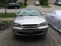 Car brand auctioned:Honda Accord EX leather 1999 Car model honda accord leather 5 sp manual