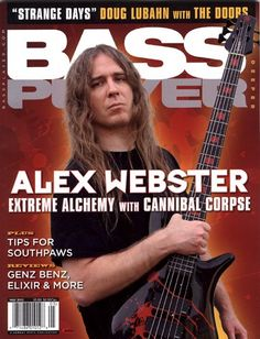 The talented Mr Alex Webster ( Blotted Science / Cannibal Corpse) is on the cover of the May 2012 issue of Bass Player magazine w/ his Blotted inspired Spector signature bass! Pick up the latest Blotted Science EP 'The Animation of Entomology' for only 5.99 - http://store.basickrecords.com/product/blotted-science-the-animation-of-entomology-cd