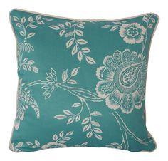 Teal Cushions, Blue Cushion Covers, Throw Pillows, Floral, Toss Pillows, Cushions, Flowers, Decorative Pillows, Decor Pillows