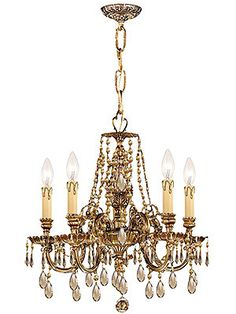 "Novella 5 light chandelier 18""H x 19"" W $798.90"