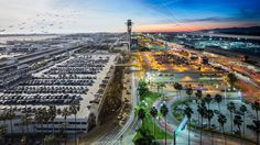 Los Angeles International Airport (LAX) has been voted one of the world's most scenic airport landings!