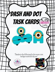 Fun with Dash and Dot! These Dash and Dot Task Cards can be used in an elementary library, STEM class, or as a classroom activity/center. This pack includes: 19 Dash and Dot Task Cards at varying levels of coding ability 1 Dash and Dot Directions sign. Dash And Dot Robots, Dash Robot, 2nd Grade Activities, Stem Activities, Science Experiments For Preschoolers, Science Lessons, Cool Science Fair Projects, Library Lesson Plans, Stem Classes
