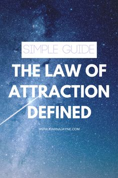 LAW OF ATTRACTION DEFINED | law of attraction | Manifest | Loa | Manifestation | Create your reality | Attract your desires |