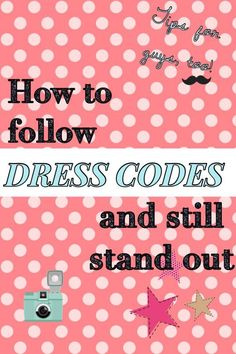 How to Stick to Dres
