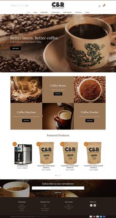 Website - Coffee Renaissance