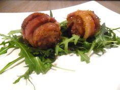 Salsiccia avvolta dalla pancetta