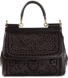 D&G tote bag in black #handbag
