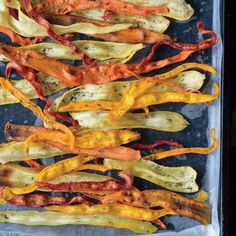 Baked Vegetable Ribbons Recipe - Real Food - MOTHER EARTH NEWS