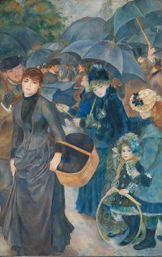 The Umbrellas ~ Pierre-Auguste Renoir 1881-86