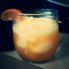 Orange Cream Liqueur Float  -Orange sherbert  -Orange Cream Soda -Patron Citronge Extra Fine Orange Liqueur