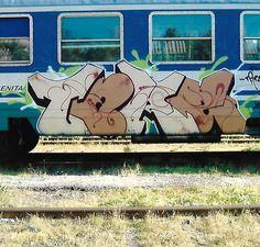 Fat 2007 train. #writing #graffiti #train #treni