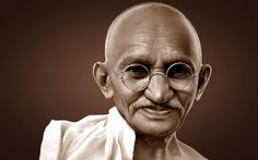 Gandhi was one of those who 'knew', which is why we still know of him, all these years later. Here are 5 sublime Gandhi quotes to add to your bookmarks. Gandhi Quotes On Peace, Mahatma Gandhi Quotes, Citation Gandhi, Image Citation, Indira Ghandi, Vie Simple, Political Leaders, World Peace, Dalai Lama