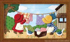 images attach c 9 106 517 Hand Applique, Applique Patterns, Applique Quilts, Applique Designs, Embroidery Applique, Quilting Designs, Wool Applique, Quilt Patterns, Girls Quilts