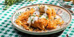Sarmale in foi de varza Romanian Food, Slow Cooker Recipes, Cauliflower, Crockpot, Meat, Chicken, Vegetables, Cooking, Breakfast