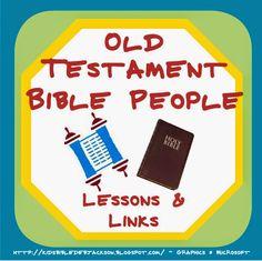 Old Testament People Lesson List & Links