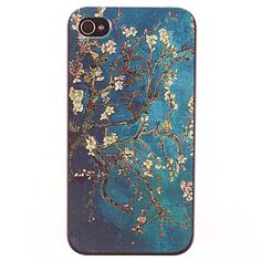 USD $ 2.99 - Flowering Tree Design PC Hard Case for iPhone 4/4S, Free Shipping On All Gadgets!