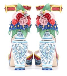 Dolce & Gabbana Embellished Patent-leather Sandals In Multicoloured Suede Sandals, Suede Pumps, Calf Leather, Patent Leather, T Shirt And Jeans, Alternative Fashion, Shoe Boots, Shoes, Jewelry Design