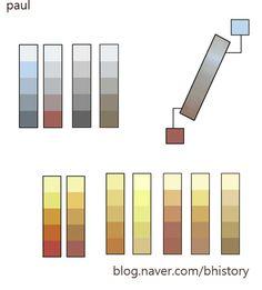 쇠질감 표현 컬러픽(골드,실버) : 네이버 블로그