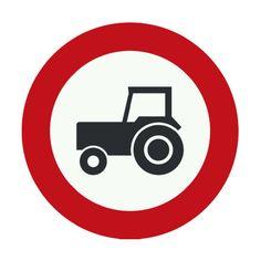 Tractors prohibited