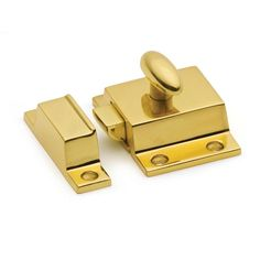 This polished brass finish surface mount cupboard turn latch from Cliffside Industries is an elegant, and functional, adornment for use on furniture or inset cabinet doors. Window Hardware, Cabinet Hardware, Cabinet Doors, Polished Brass, Solid Brass, Christopher Peacock, Cabinet Cup Pulls, Inset Cabinets, Cabinet Styles