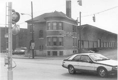 York Pa History - Western MD Freight Station, near the Codorus Creek on the west side North George St.