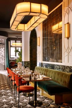 Estilo Interior, Bar Interior, Restaurant Interior Design, Top Interior Designers, Commercial Interior Design, Modern Interior Design, Interior Design Inspiration, Contemporary Interior, Luxury Interior