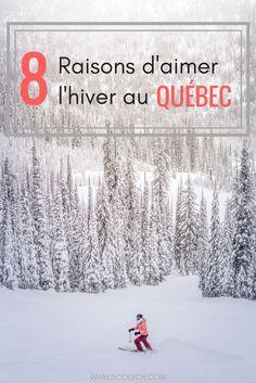 Si vous me lisez depuis quelque temps, vous savez déjà que j'aime l'hiver. Alors voici mes 8 raisons pourquoi l'hiver est la meilleure saison au Québec. #voyage #voyagevoyage #quebecoriginal #quebec #hiver #sports Ontario, Blog Voyage, Trip Planning, Globe, Road Trip, Voici, Snow, How To Plan, Winter