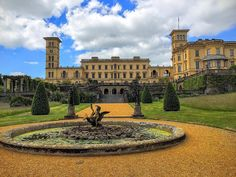 My all time favorite Royal residence in UK? Osborne House on the Isle Of Wight. Spectacular!