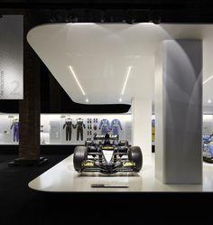Fernando Alonso exhibition by Isern Serra, Sylvain Carlet, Mediapro exhibitions, Madrid - Spain